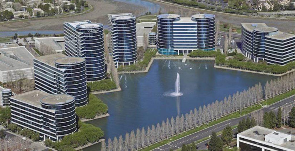 Sediul Oracle din Redwood City, Silicon Valley