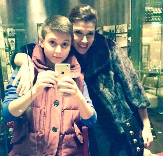 alina chivulescu si fiul ei