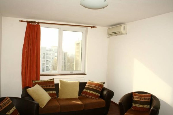 Interiorul unui apartament cu 2 camere din zona Gara de Nord
