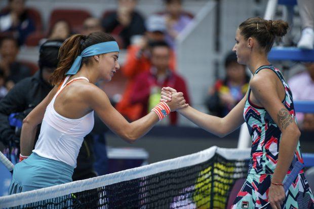 LIVE TEXT Sorana Cîrstea - Karolina Pliskova 6-1, 7-5, în optimile de la Beijing. Sorana a reușit minunea. Primul set l-a câștigat defilând, iar în al doilea a reușit o revenire fantastică
