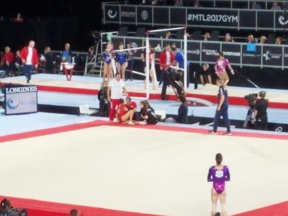 Campionatul Mondial de gimnastică 2017. Larisa Iordache s-a accidentat grav și ratează competiția de la Montreal | FOTO&VIDEO