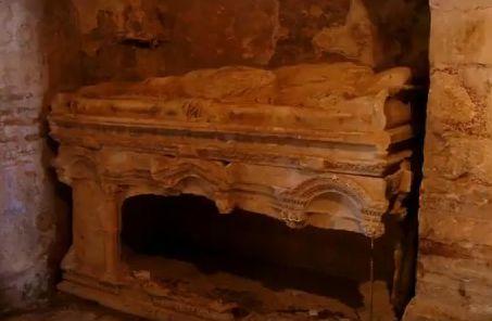 Mormântul descoperit în Biserica Sfântul Nicolae din Antalya, Turcia