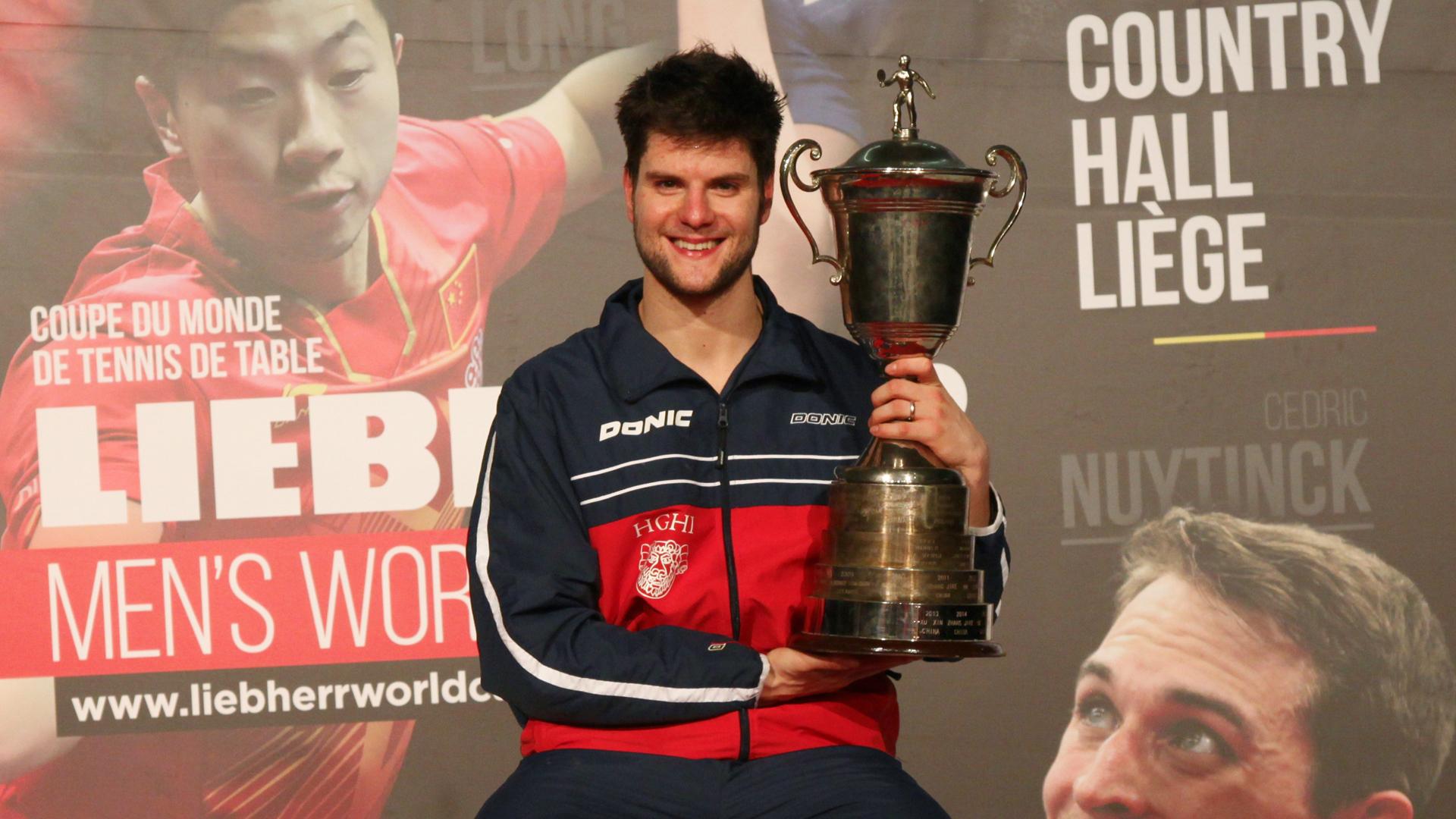 Germanul Dimitrij Ovtcharov a câștigat Cupa Mondială la tenis de masă / VIDEO