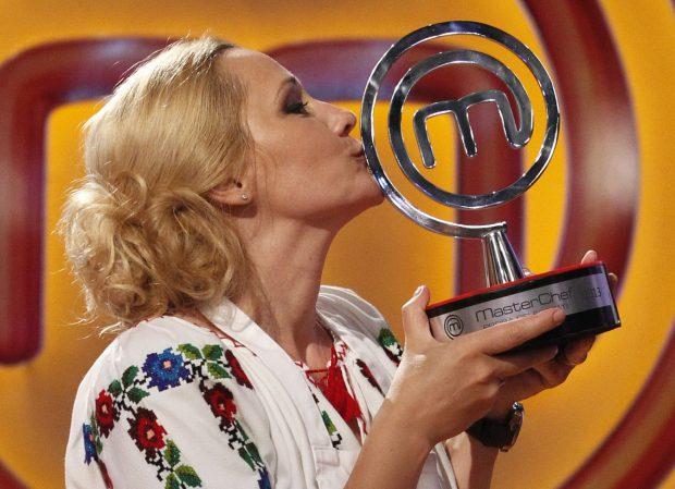 Elena Lasconi trofeu Masterchef