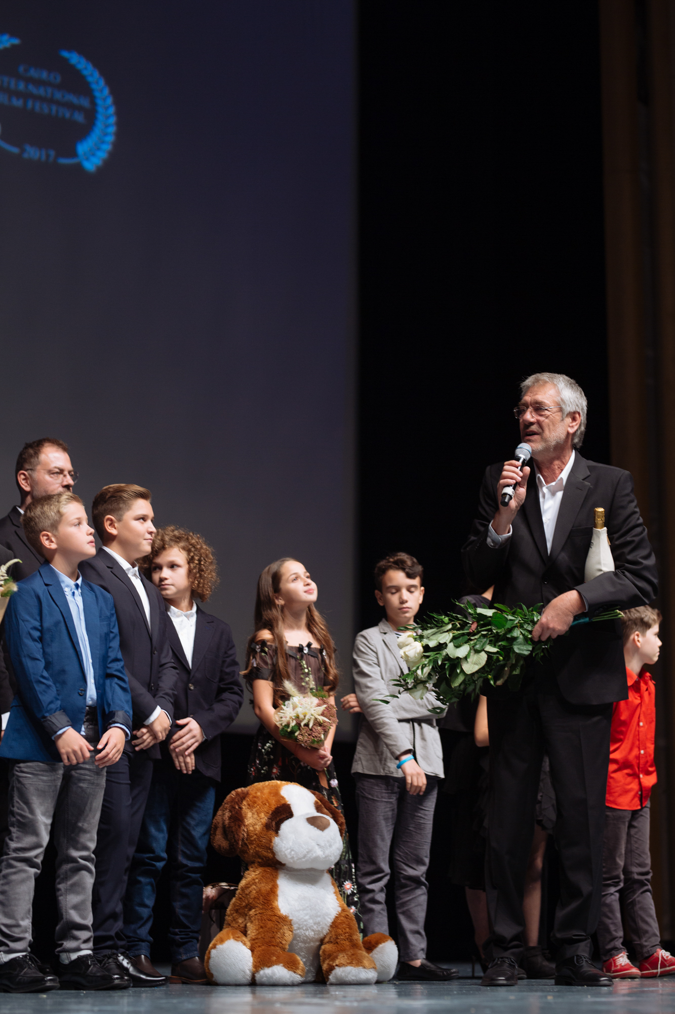 EXCLUSIV/ Tatăl nu-l vrea actor, dar talentul... se moștenește. La 10 ani, puștiul lui Andrei Aradits joacă alături de Marcel Iureș