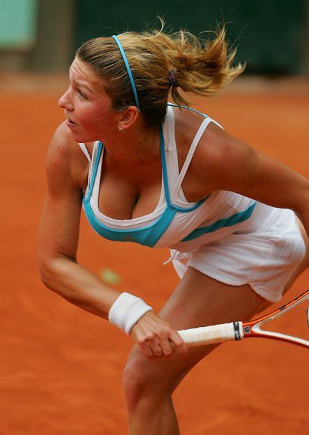 Simona Halep în 2008