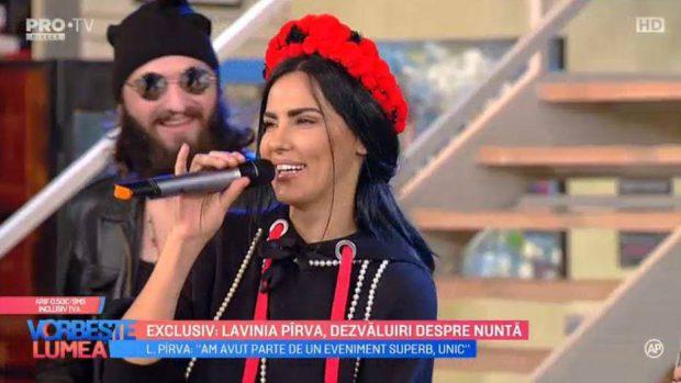 Lavinia Pîrva, declarații uimitoare despre nunta cu Ștefan Bănică