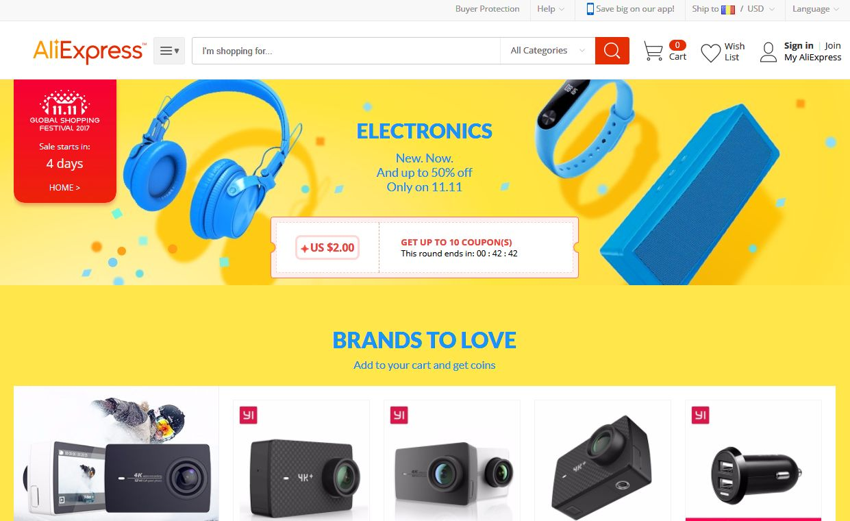 AliExpress - Singles Day 2017