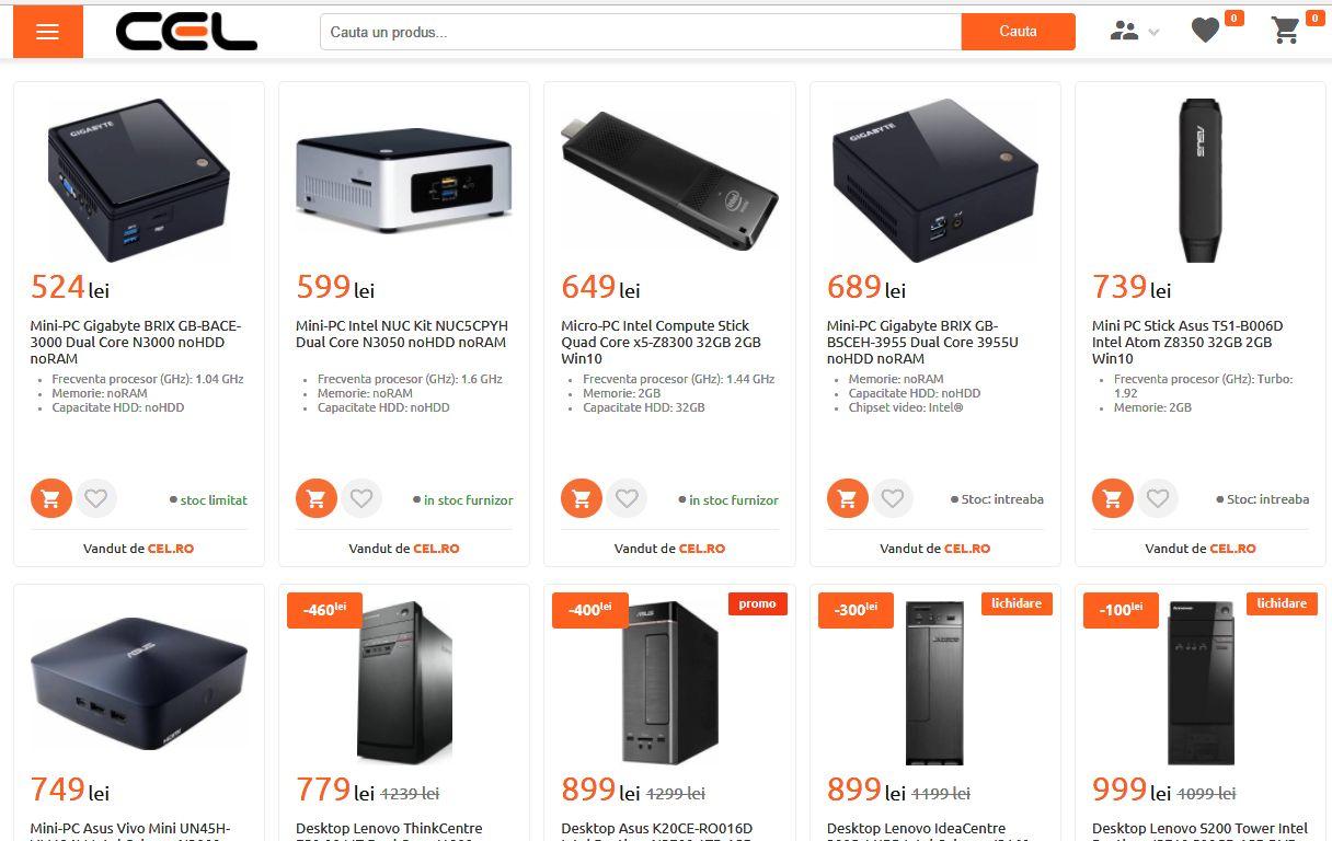 cele mai ieftine calculatoare de Black Friday 2017