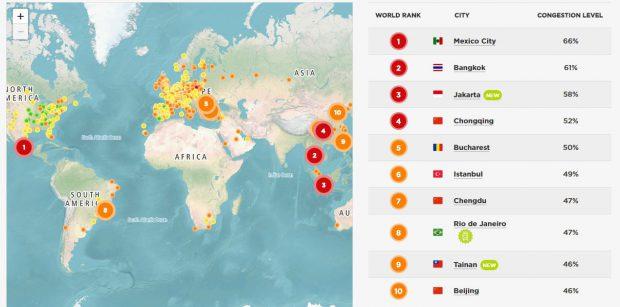 Bucureşti este pe locul 5 în Top-ul celor mai aglomerate oraşe din lume