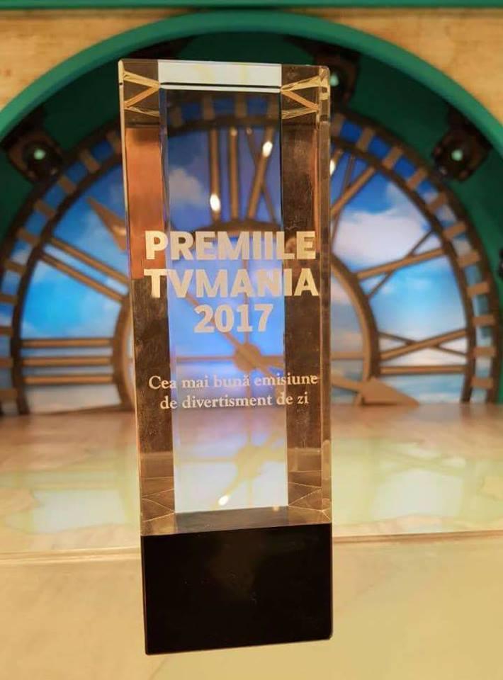 Dani Oțil, premiat la gala TV Mania. Ce spune prezentatorul despre televiziune