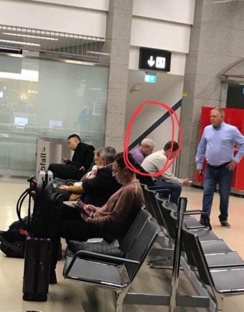 Liviu Dragnea, pe aeroportul din Viena în ziua protestelor