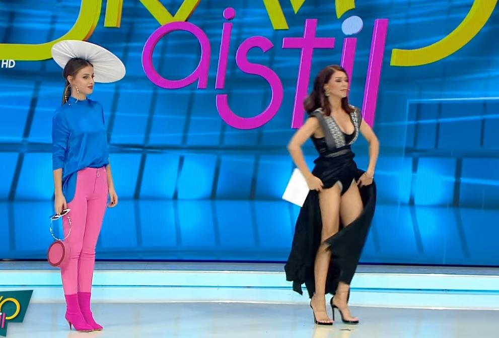Ilinca Vandici a apărut în presa britanică după ce și-a ridicat fusta în timpul emisiunii Bravo, ai stil!