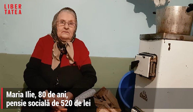 Contabilitatea tristă a sărăciei: pensionarii cu venituri mici nu au dreptul la ajutor de încălzire. Lemnele de foc, udate cu lacrimile bătrânilor | Libertatea.ro