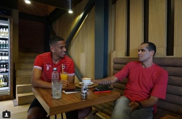 Rivaldo (dreapta) și Rivaldinho