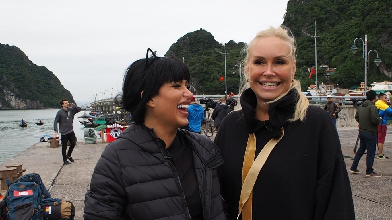 Daniela Crudu și Vica Blochina, primele impresii despre aventura
