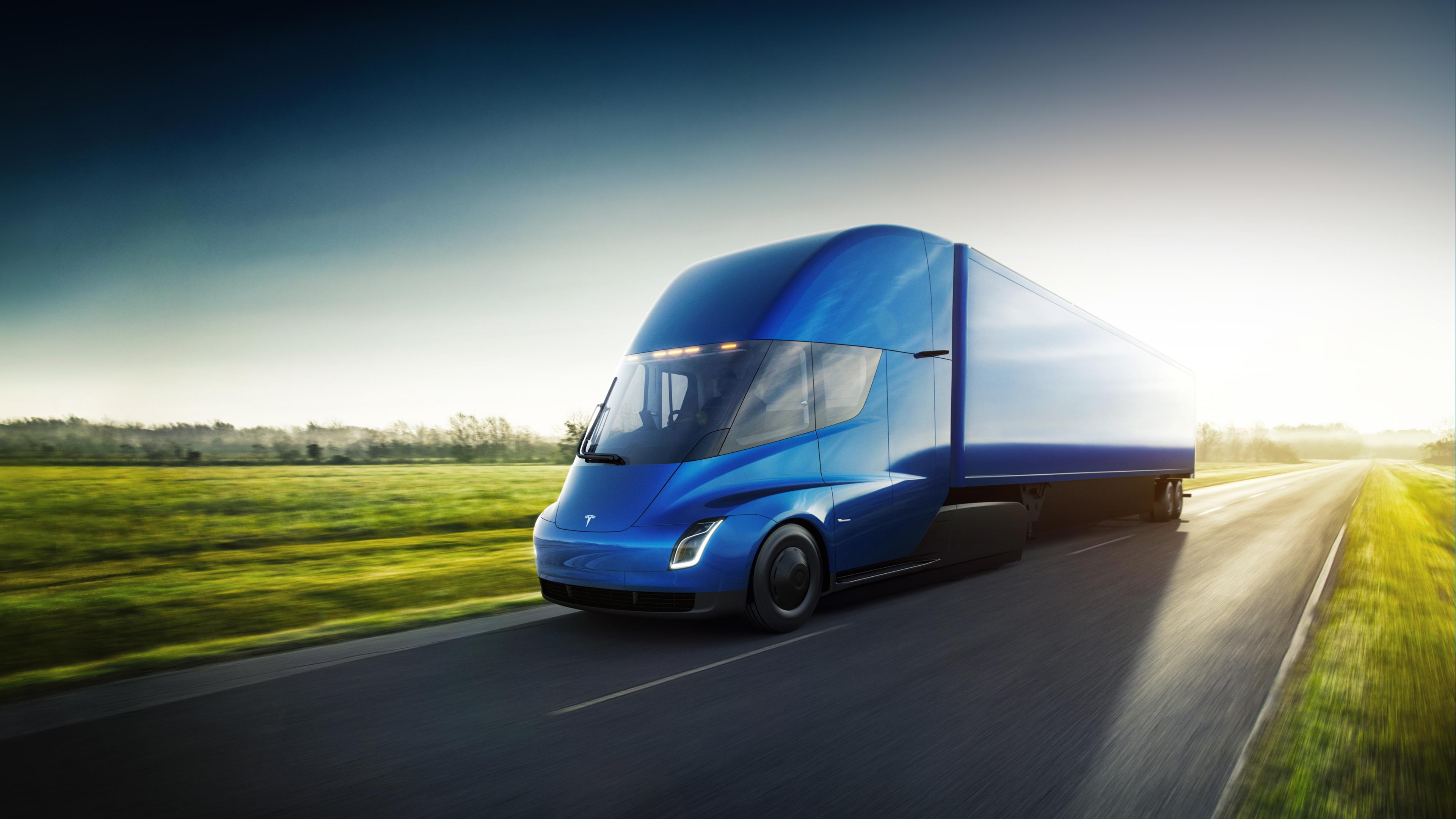 Camionul Tesla Semi