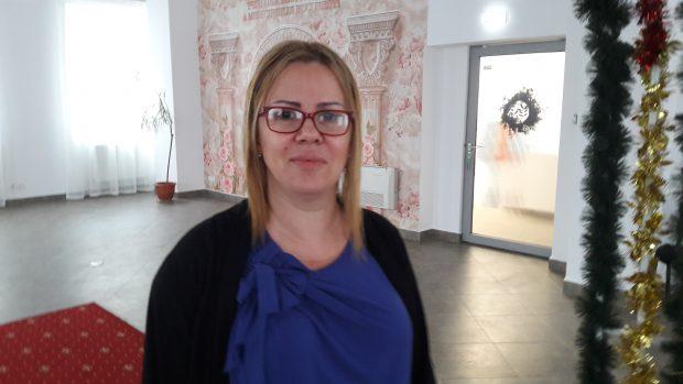 Oana Crețu, șefa Biroului de Stare Civilă din cadrul Primăriei Sectorului 5.