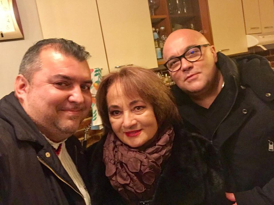 VIDEO EXCLUSIV/Gest emoționant al Laurei Lavric. A venit la București să-și vadă, după 25 de ani, un fost vecin