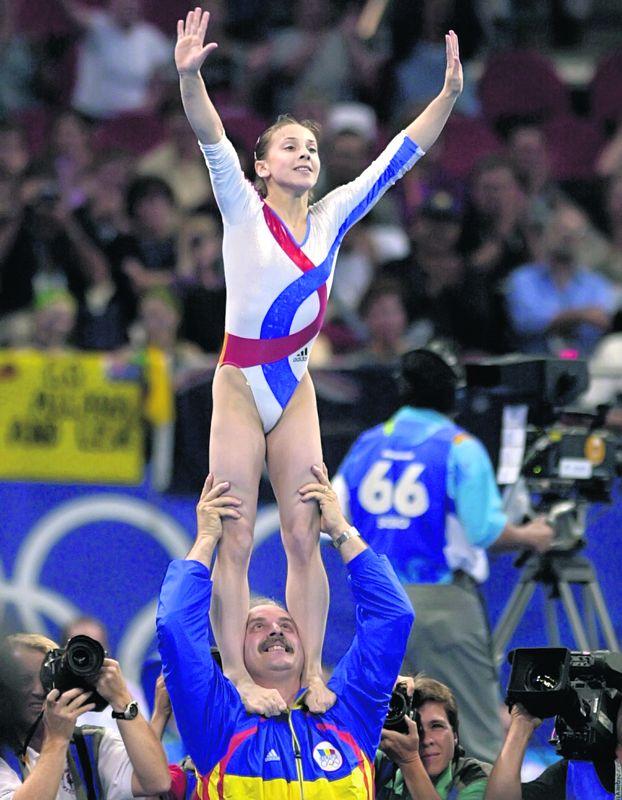 Andreea Răducan și-a botezat fetița. Cine au fost nașii fiicei celebrei gimnaste