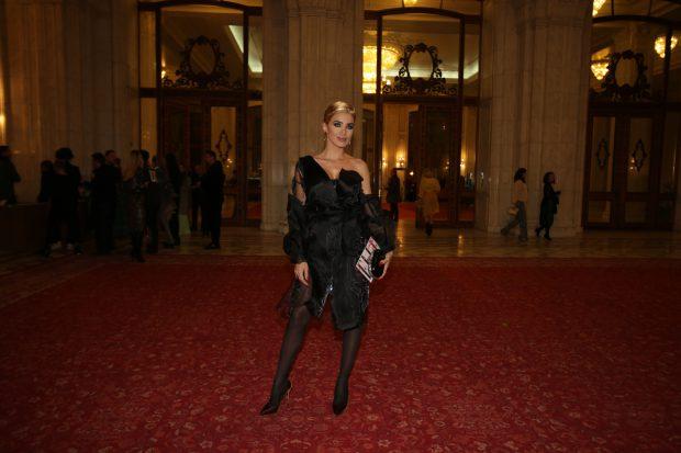 Adelina Pestrițu, la Gala Elle Style Awards 2017