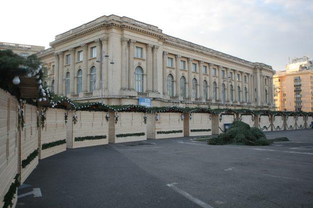 Târgul din Piața George Enescu va fi anulat.
