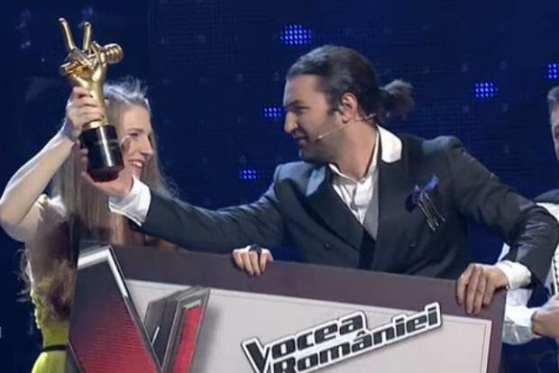 Ana Munteanu a câștigat trofeul vocea româniei - sezonul 7