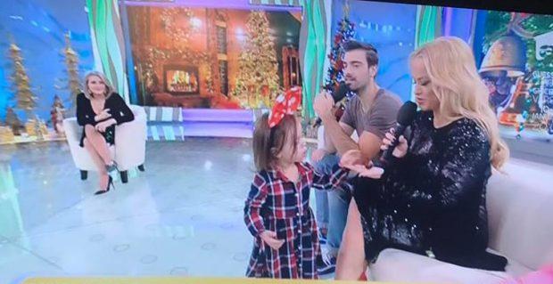 Anda Adam a făcut anunțul despre cel de-al doilea copil, în direct la tv