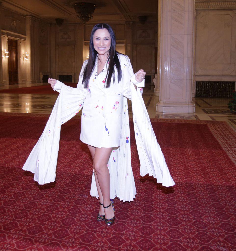 Andra, la Gala Elle Style Awards 2017