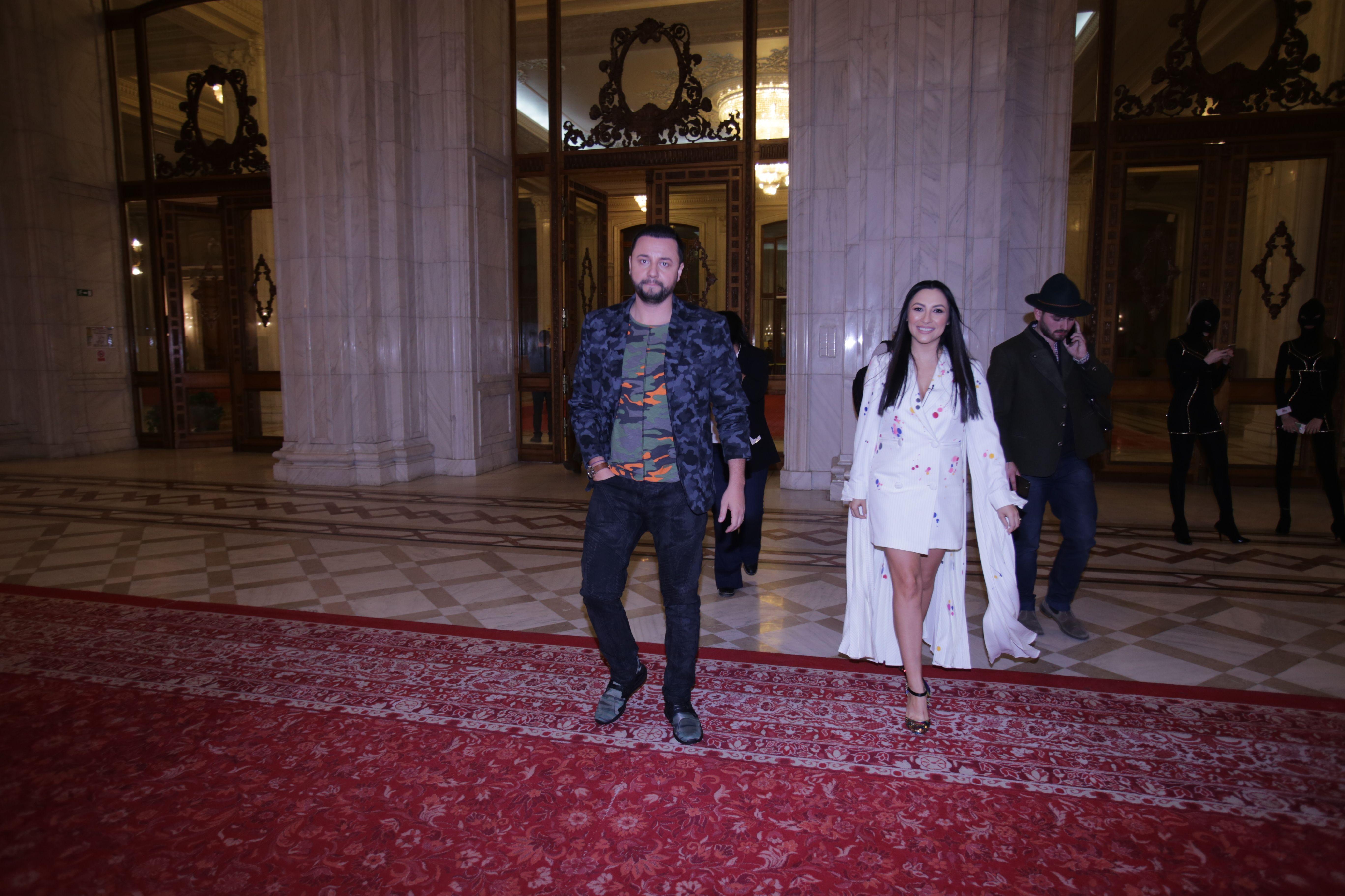 Andra și Cătălin Măruță au ajuns primii la Gala Elle Style ...