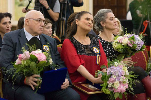 Soprana Felicia Filip și actrița Maia Morgenstern au primit Cheia Orașului București din partea Primarului Capitalei