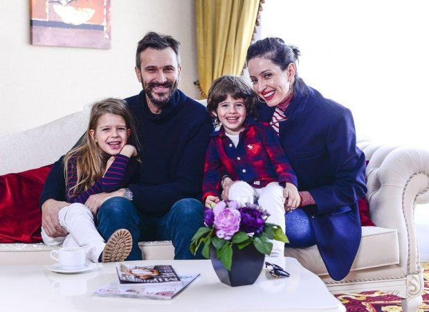 Nicolai Tand cu familia