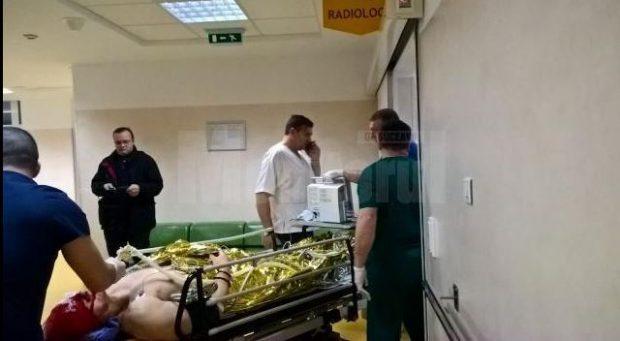 UPDATE: Polițistul din Suceava atacat cu sabia a ieșit din prima operație. Stare lui e în continuare gravă