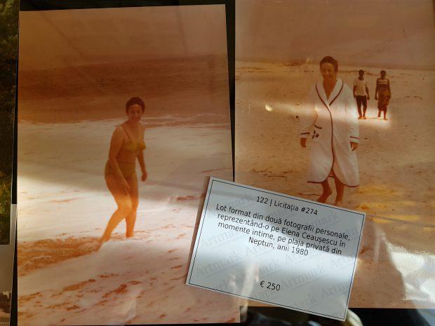 Două fotografii din intimitatea Elenei Ceauşescu, scoase la licitaţie cu preţul de pornire de 250 de euro