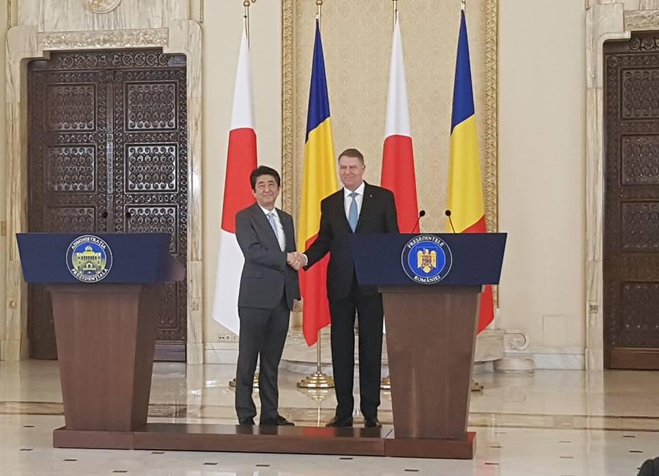 VIDEO | Premierul Japoniei, vizită istorică în România. A găsit țara fără Guvern, dar vrea să investească într-o magistrală de metrou.  FILMUL ZILEI
