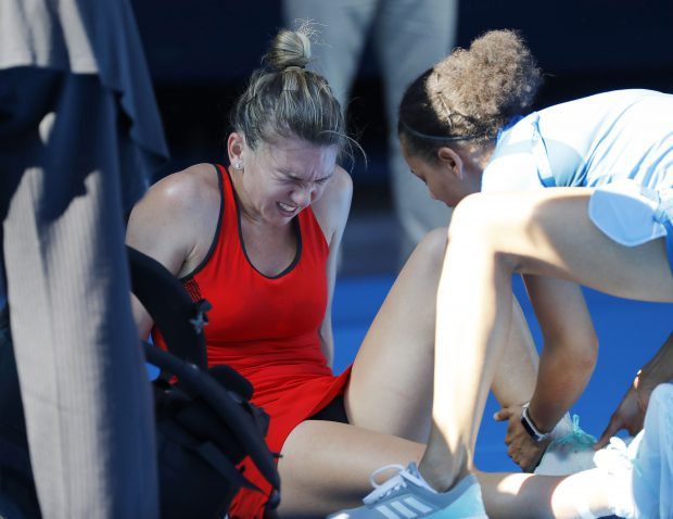 Accidentarea Simonei Halep