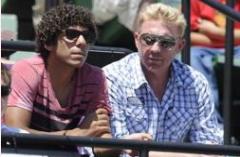 Noah și Boris Becker