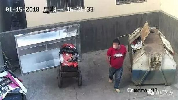 Bărbat filmat când își arunca copilul nou-născut la tomberon