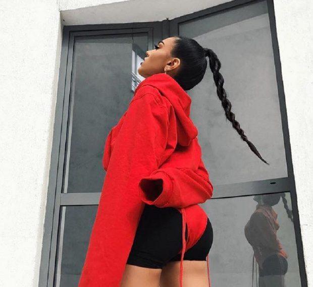 Fiica lui Adi Minune a încins atmosfera într-o pereche de pantaloni scurți negri