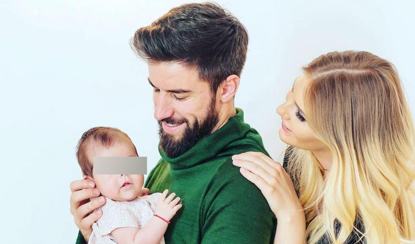 EXCLUSIV/Noua soție a lui Gabi Enache a uitat complet de primul ei copil. Fetița nu și-a cunoscut nici acum fratele mai mic