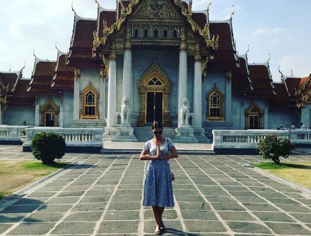 Ilinca Vandici in Thailanda