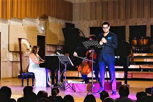 VIDEO/Pianista Ioana Maria Lupașcu și contratenorul Cezar Ouatu se pregătesc de nuntă. Nunta lui Figaro!