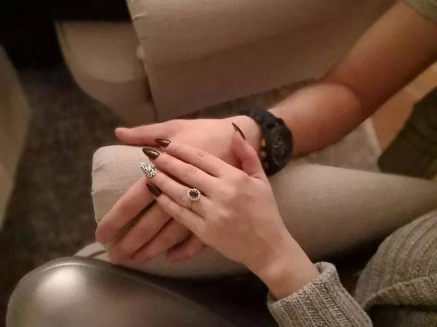 Larisa Drăgulescu s-a logodit. Ce inel frumos a primit fosta soție a lui Marian Drăgulescu