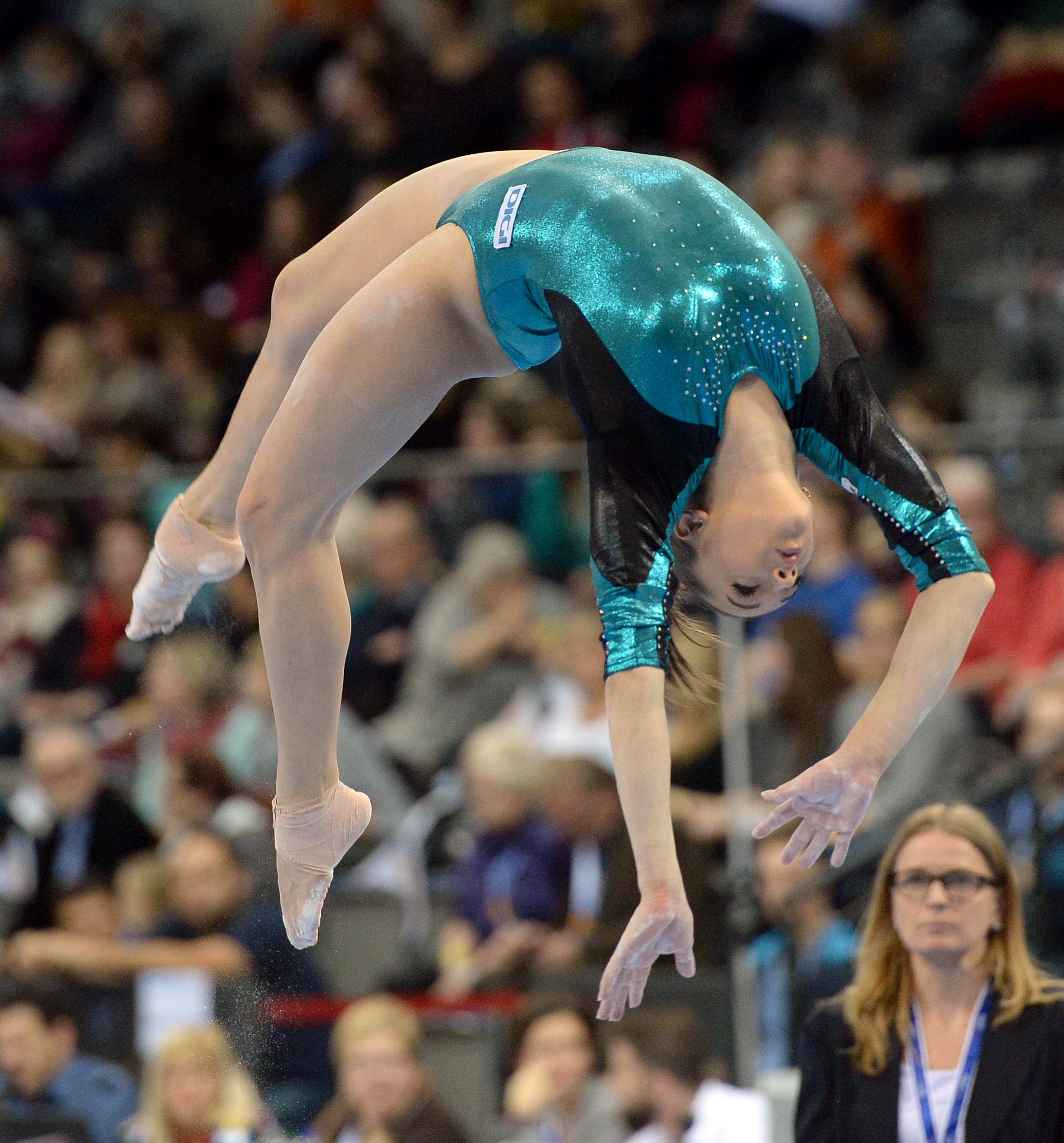 Larisa Iordache este cea mai valoroasă gimnastă română aflată în activitate. (FOTO: EPA)