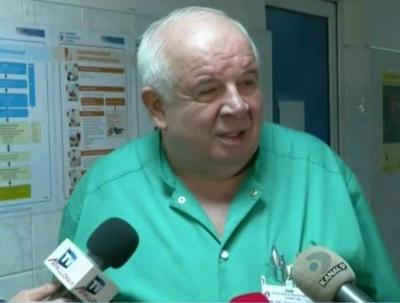 Prof. univ. dr. Marin Burlea, şeful Clinicii de Gastroenterologie din