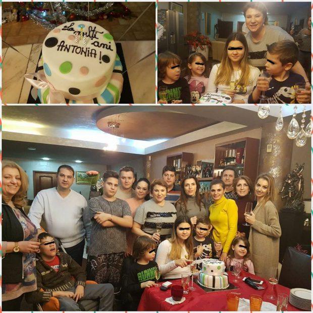Fiica Mihaelei Borcea și-a aniversat ziua numelui. Antonia a avut parte de o petrecere surpriză