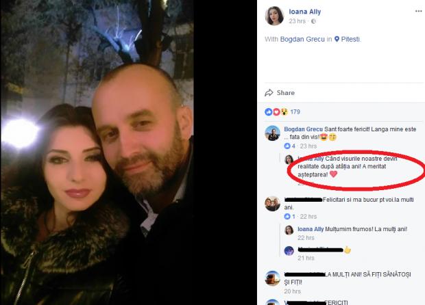 Prima imagine cu fostul soț al Danei Grecu și iubita lui.