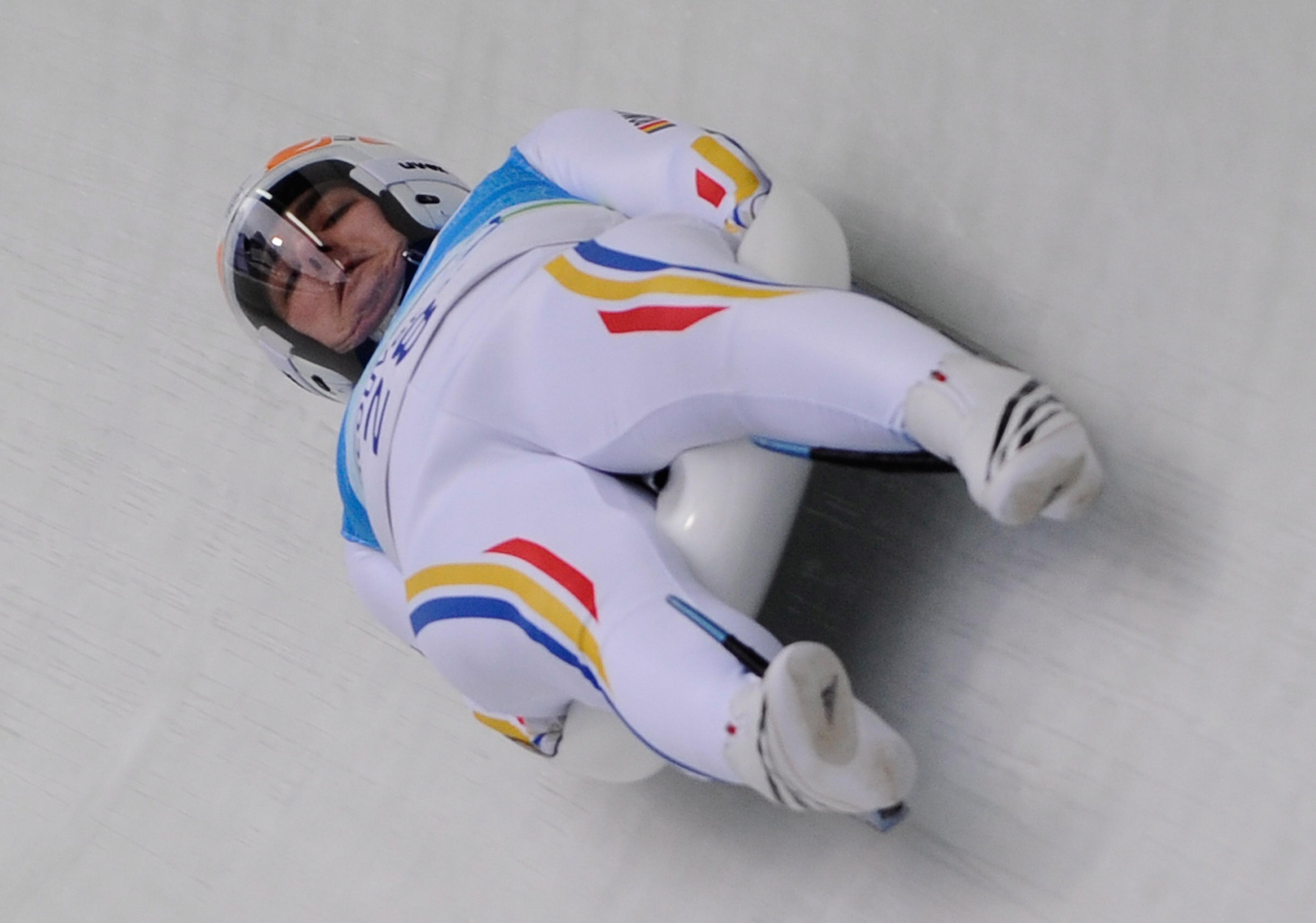 Valetin Crețu va participa în proba de sanie la Jocurile Olimpice de iarnă din 2018. (FOTO: EPA)
