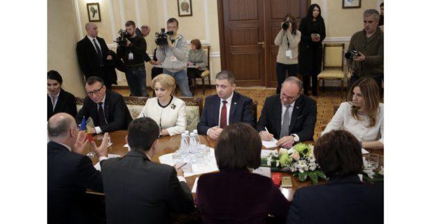 VIDEO/ UPDATE. Premierul Viorica Dăncilă, în vizită oficială la Chișinău: Ședință comună a celor două guverne, în perioada următoare
