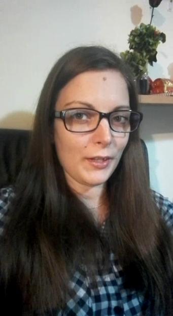"""Andreea Dumitrache, psiholog în cadrul Asociației """"Telefonul Copilului""""."""
